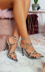 Kelsie Strappy Pointed High Heels  Thumbnail