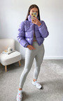 Kennedy Cropped Padded Puffer Jacket Thumbnail