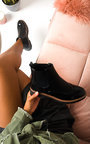 Katie Faux Leather Brogue Chelsea Boots Thumbnail