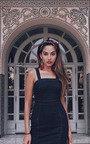 Kiara Denim Bodycon Midi Dress Thumbnail