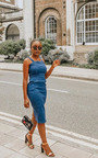 Kiara Denim Boydcon Midi Dress Thumbnail