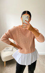 Kiki Knitted Shirt Jumper Thumbnail