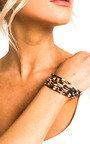 Kiki Leopard Print Bracelet Thumbnail