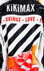Kiki Long sleeve Oversized Bomber Jacket Thumbnail