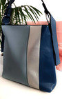 Kimberly Colour Block Tote Handbag Thumbnail