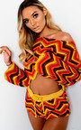 Kimmi Crochet Knitted Aztec Co-ord Thumbnail