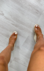 Kimmie Perspex Wedged Heel Thumbnail