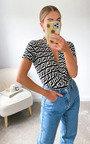 Kimmy Printed Bodysuit Thumbnail