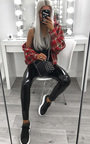 Kirti High Shine PU Trousers Thumbnail