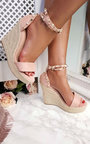 Klaire Studded Embellished Wedges Thumbnail