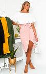 Toni Tie Waist Batwing Midi Dress  Thumbnail