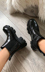 Kourtney Mega Chunky Ankle Boots Thumbnail