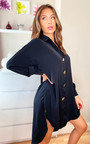 Kristy Oversized Shirt Dress Thumbnail
