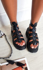 Kristy Strappy Platform Sandals  Thumbnail