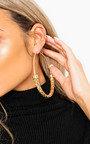 Kylie Large Hoop Earrings Thumbnail