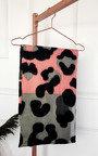 Kylie Leopard Print Scarf Thumbnail