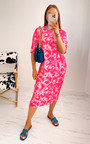 Lachlan Tie Dye Midi T-Shirt Dress Thumbnail