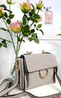 Lana Circle Detail Shoulder Bag Thumbnail