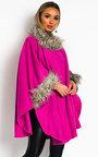 Larkyn Faux Fur Cape Thumbnail