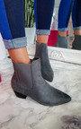 Laura Faux Suede Ankle Boots Thumbnail