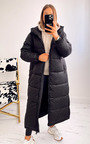 Laura Longline Puffer Hooded Jacket Thumbnail