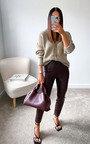 Lauren Button Up Knitted Cardigan Thumbnail