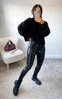 Lauren High Neck Knitted Jumper Thumbnail