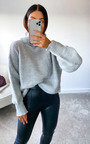 Lauren High Neck Knitted Jumper Thumbnail
