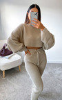 Lauren Knitted Cropped Co-ord  Thumbnail