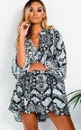 Layla Printed Smock Dress Thumbnail