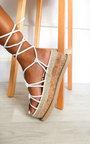 Layla Strappy Flatform Sandals Thumbnail
