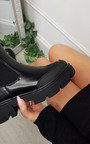 Leah Faux Leather Chunky Ankle Boot Thumbnail