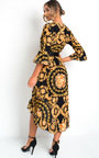 Leah Printed Floaty Maxi Dress Thumbnail