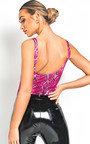 Leonie Animal Print Bodysuit Thumbnail