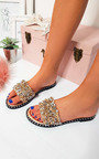 Libby Embellished Open Toe Sandals Thumbnail