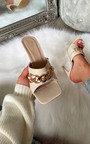 Liberty Chain Detail Slip on Mule Thumbnail