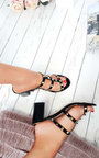 Lidia Studded Slip On Heel Thumbnail