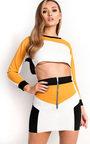 Lilla Sports Panelled Skirt Co-ord Thumbnail