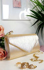 Lills Glitter Envelope Clasp Clutch Bag Thumbnail