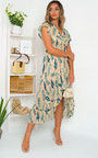 Lilly Chiffon Frill Maxi Dress Thumbnail