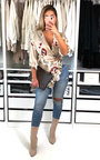 Lilly Floral Wrap Blouse  Thumbnail