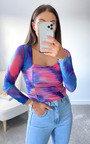 Lilly Tie Dye Top Thumbnail