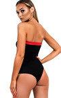 Lina Block Strapless Bodysuit Thumbnail