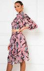 Lina High Neck Midi Shift Dress Thumbnail
