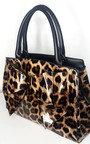 Lina Leopard Shoulder Bag Thumbnail