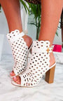Linds Peep Toe Ankle Boots Thumbnail