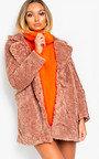 Lissy Faux Fur Coat Thumbnail