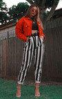 Livia Striped High Waist Trouser Thumbnail