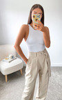 Lois Belted Tailored Trousers Thumbnail