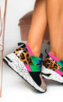 Lois Colour Block Chunky Trainers Thumbnail